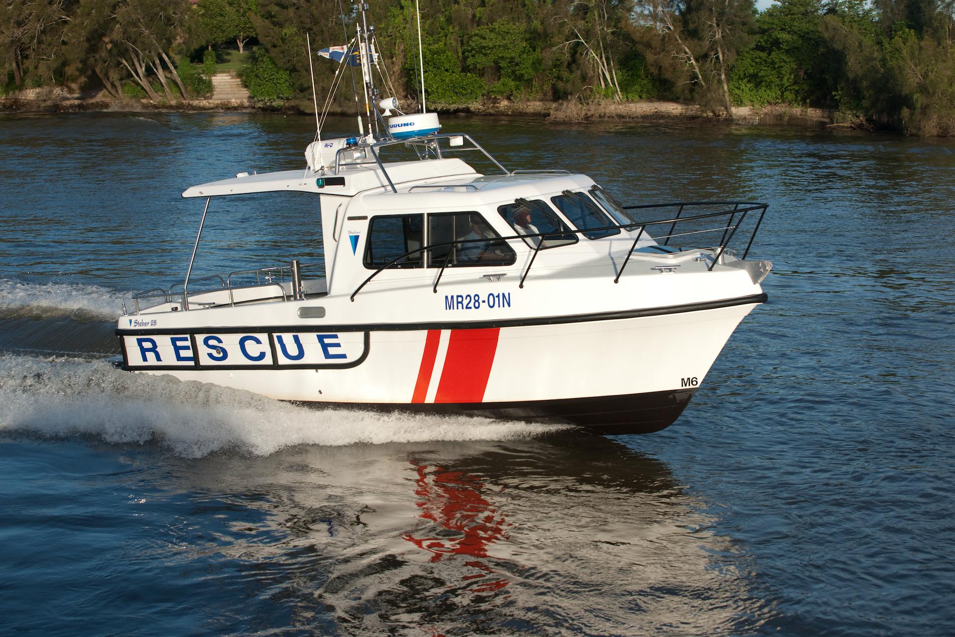 Steber 28ft Volunteer Marine Rescue - NSW