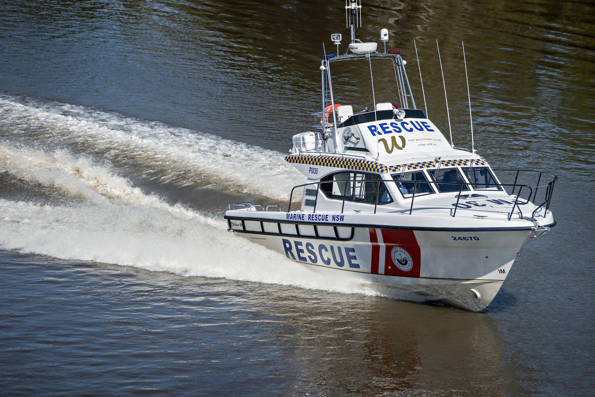 Steber 38 ft SLR Marine Rescue - Port Macquarie, NSW