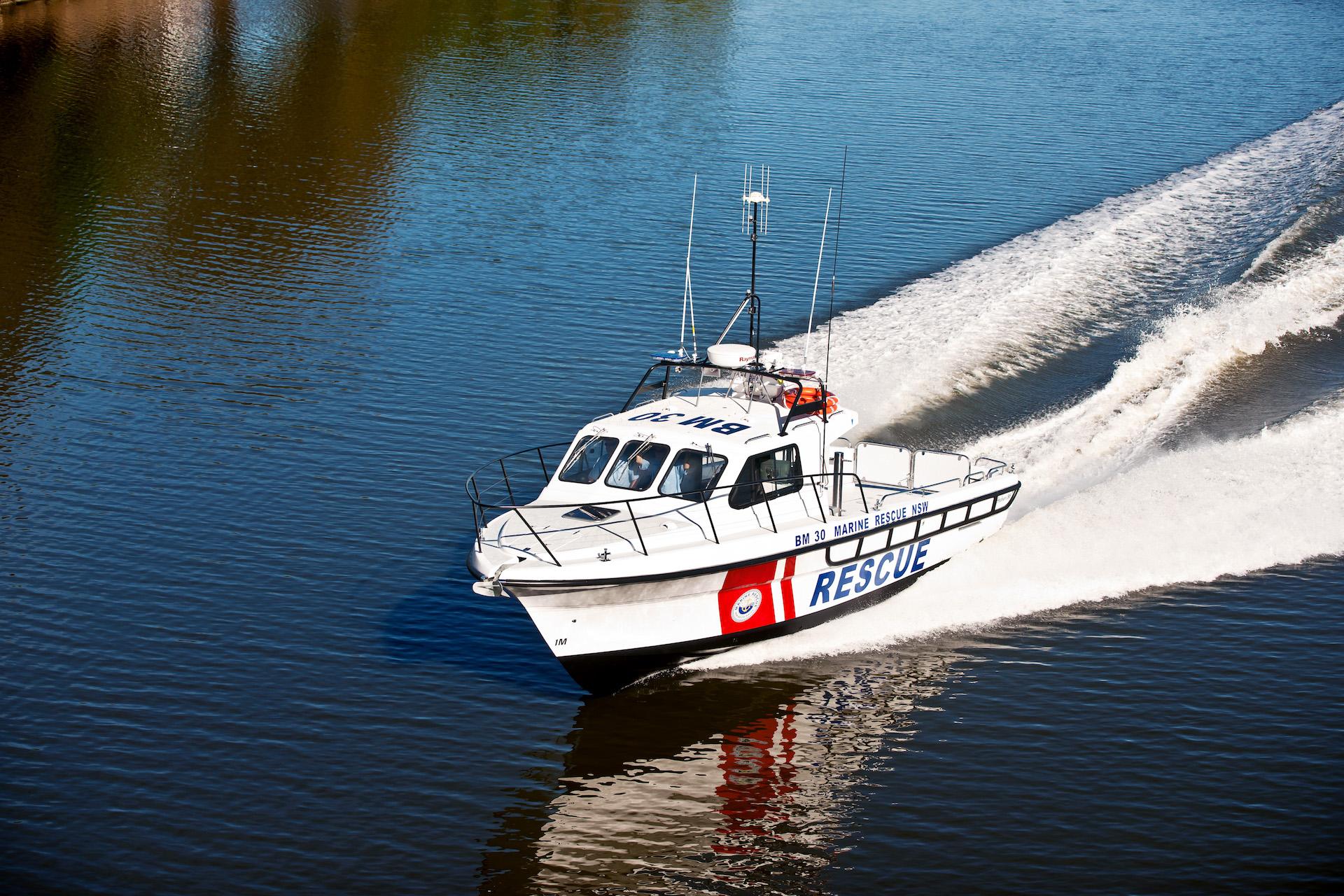 Steber 38 ft Marine Rescue - Batemans Bay, NSW