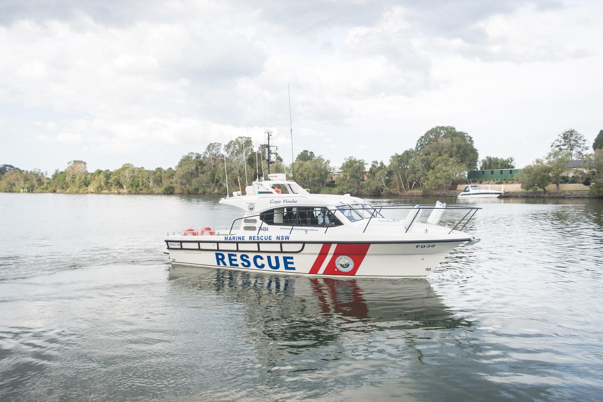 Steber 38 ft Marine Rescue - Forster, NSW