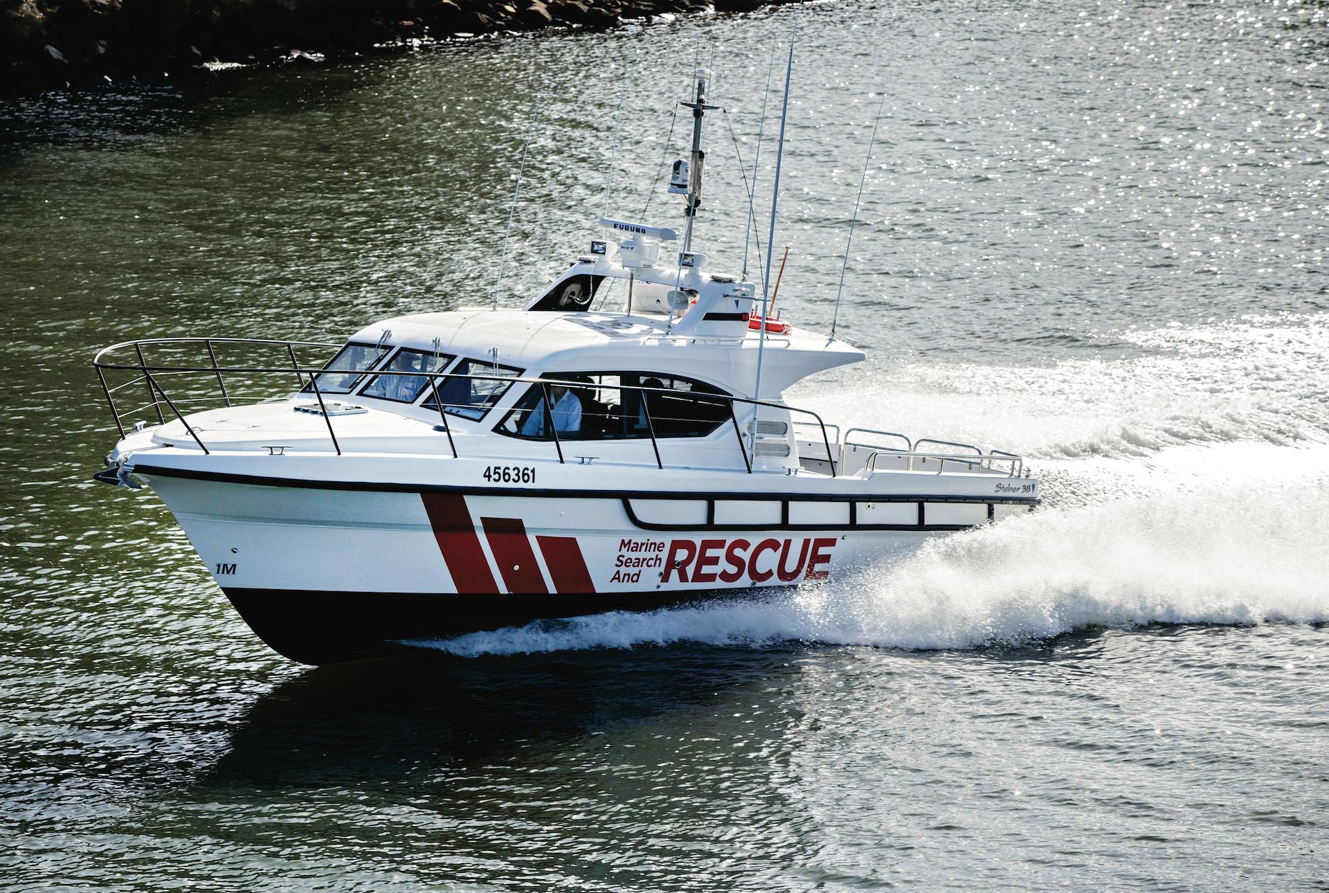 Steber 38ft Marine Search and Rescue - Port Fairy Victoria