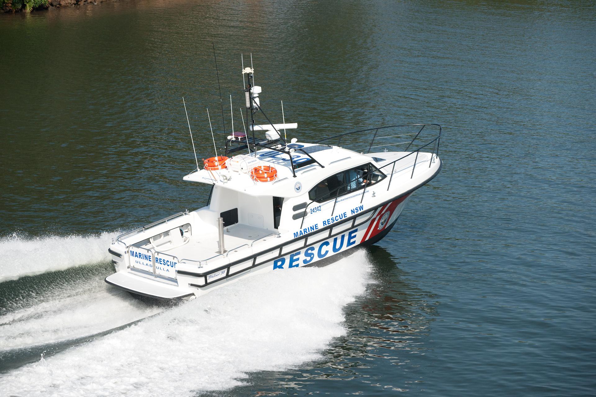 Steber 38ft SLR Marine Rescue - Ulladulla, NSW