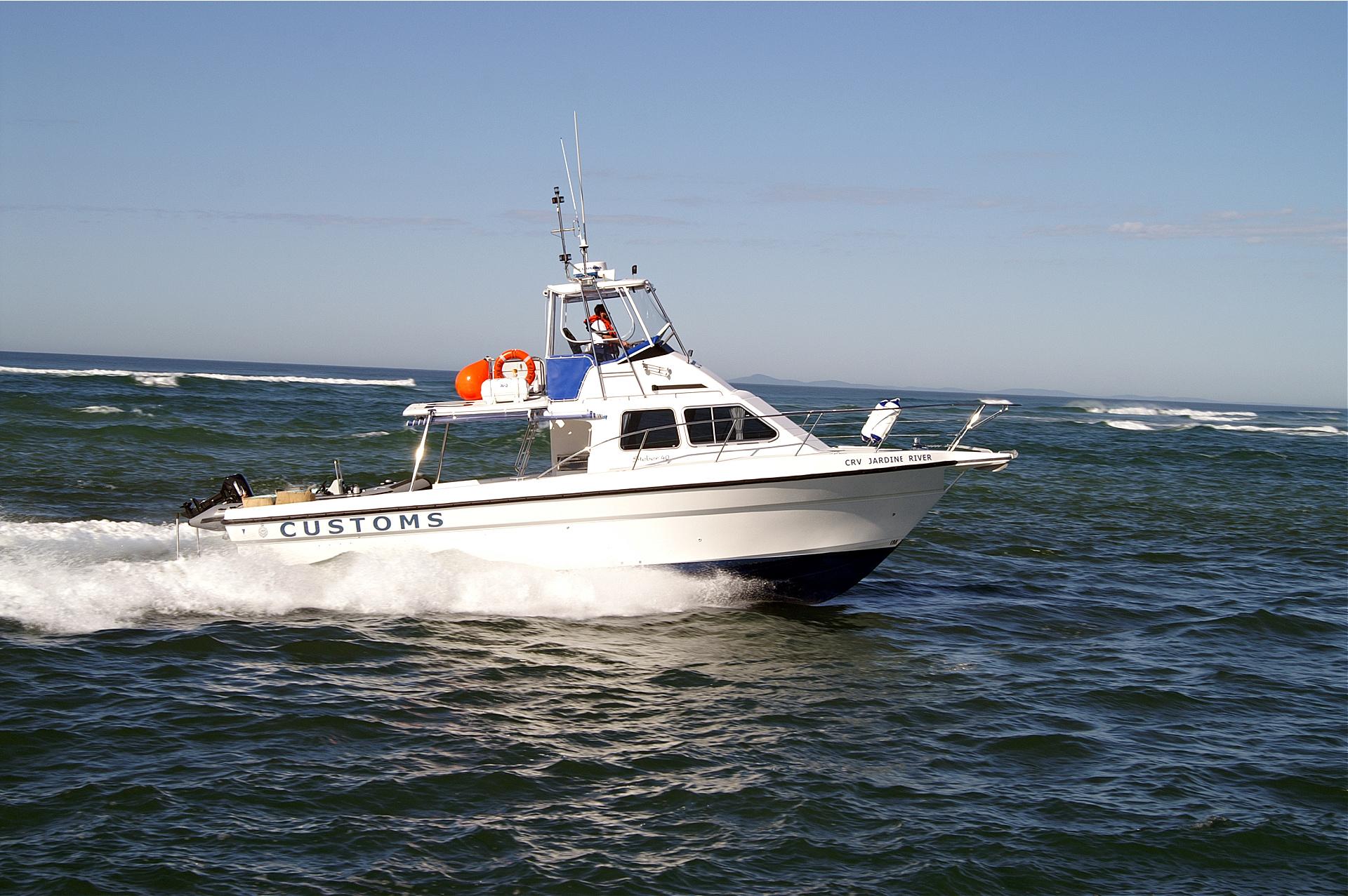Steber Border Force 40 ft Customs Vessel