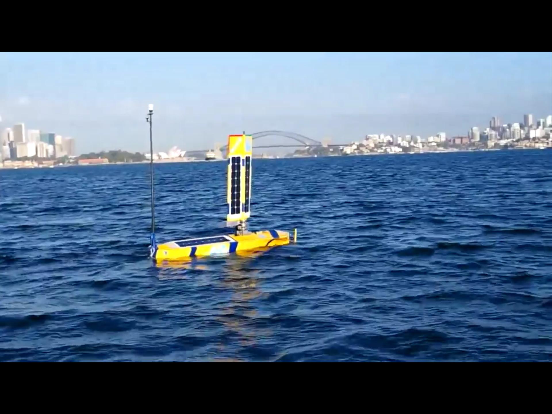 Steber Border Force Bluebottle Unmanned Surface Vessels