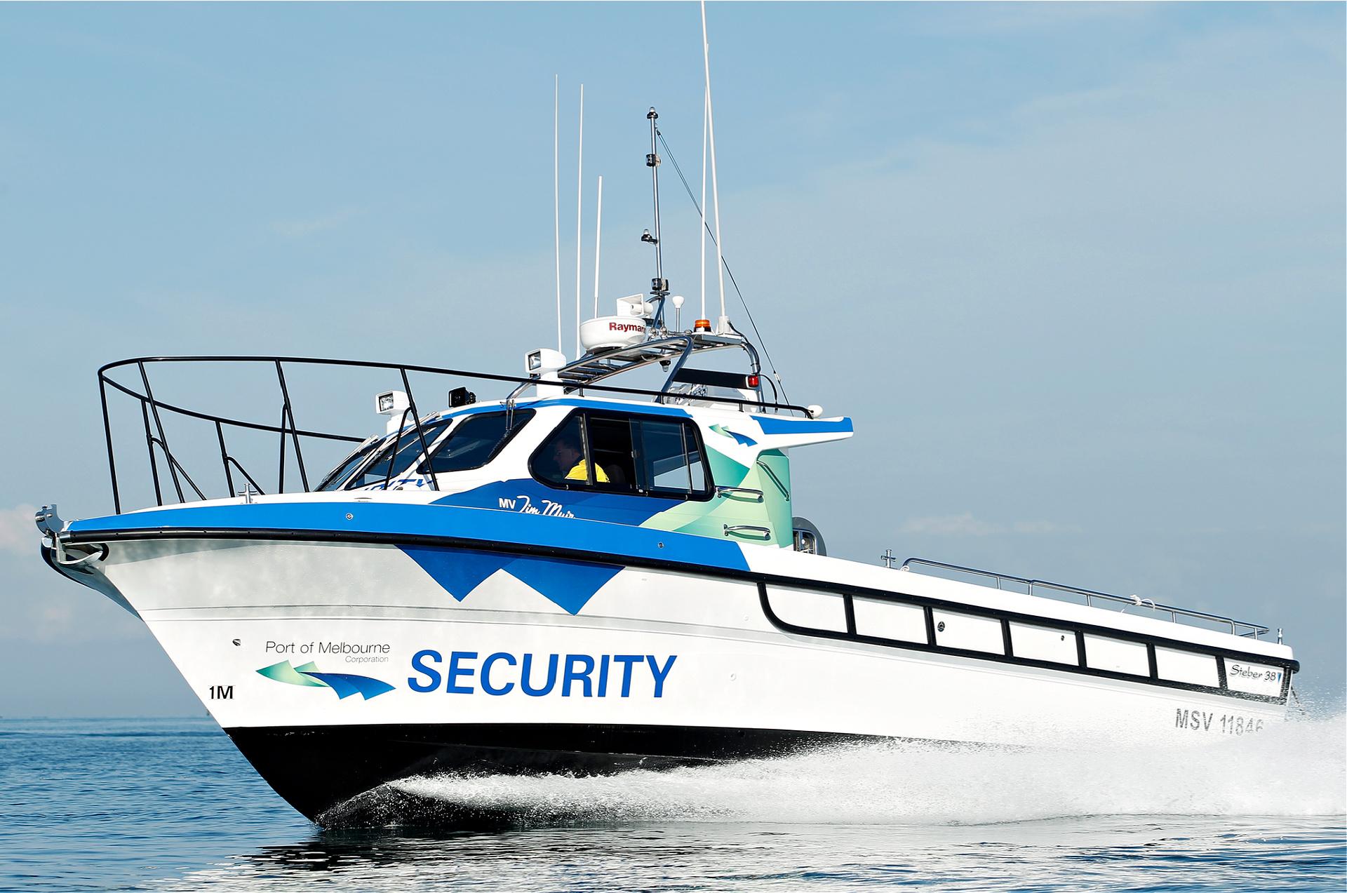 Steber Border Force 38ft Port of Melbourne Corporation